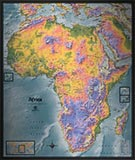 Africa Detailed Physical Map