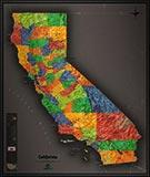 California Maps Beautiful Wall Maps Of California State Map