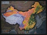 China Detailed Physical Map