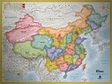 China Standard Political Map