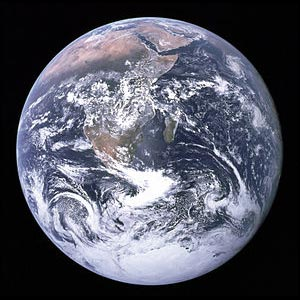 Original Blue Marble Photograph of Earth by Apollo 17