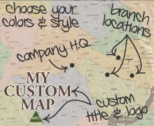 Custom map design services