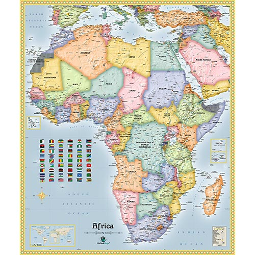 Continent Map Collection | Shop Beautiful Continent Maps on map of africa food, map of africa updated, map of africa current, map of africa 2014, map of africa google, map of africa cdc, map of africa detailed, map of africa clear,