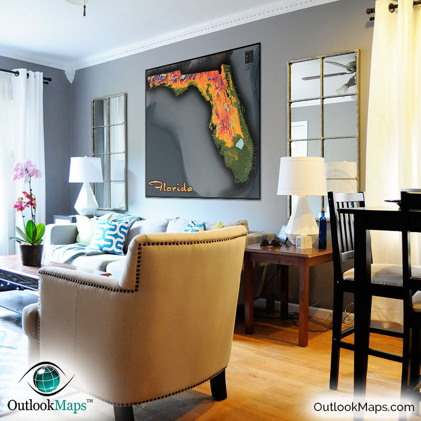 Orlando Home Decor Stores: Colorful Natural Physical Landscape