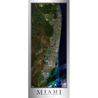 High-Resolution Print of Miami Satellite Map on dunnellon fl on map of florida, computer map of florida, flood map of florida, google maps florida, live satellite map florida, traffic map of florida, telephone map of florida, map map of florida, view of tampa florida, marine map of florida, live radar weather map florida, full large map of florida, ups map florida, transportation of florida, detailed map of florida, hd map of florida, aerial of florida, drought map of florida, digital map of florida, satellite view of orlando,