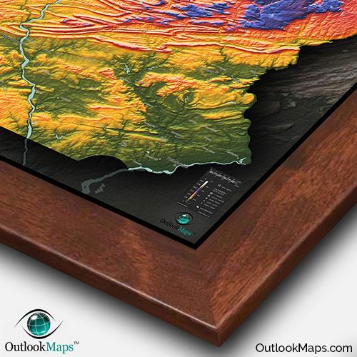 Pennsylvania Topographic Map on map of pocono mountains pa, map of endless mountains pa, map of pocono mountain area,