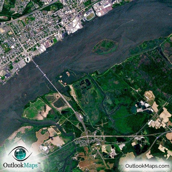 nasa aerial view of illinois - photo #43