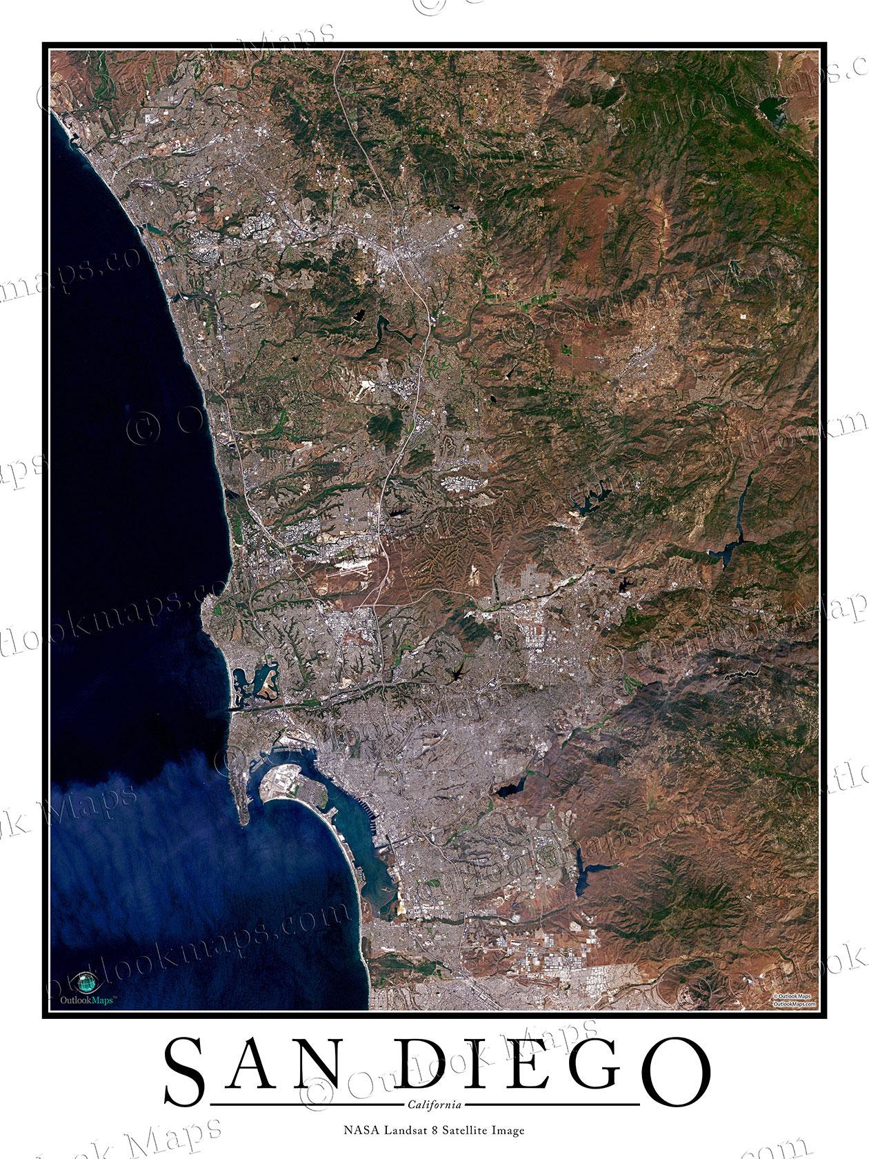 CA San Diego Camping San Diego Hostels Hiking Maps Biking San - Jo mora los angeles map